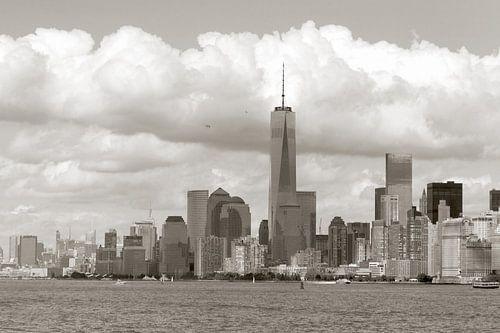 New York in sepia van