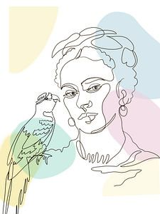 Fridas Papagei