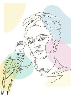 Fridas Papagei von christine b-b müller