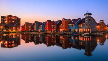 Reitdiephaven, Groningen, Pays-Bas sur Henk Meijer Photography
