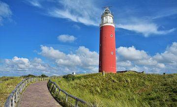 Der Texeler Leuchtturm von Egbert van Ede
