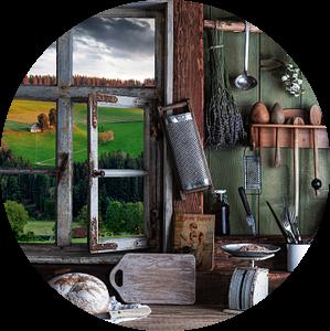 Landelijke keuken van Jürgen Wiesler