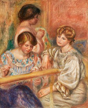 Renoir, die Stickerinnen (1902) von Atelier Liesjes
