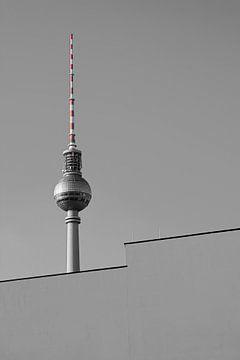 Televisietoren in Berlijn van Heiko Kueverling