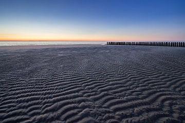 Low tide in Haamstede sur Heidi Bol