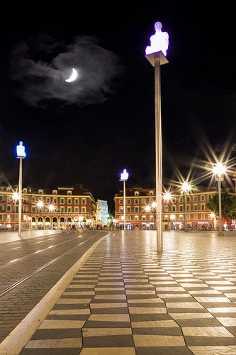NICE Place Masséna & Moon
