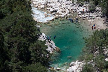Canyoning in de Gorges du Verdon von Kees Maas