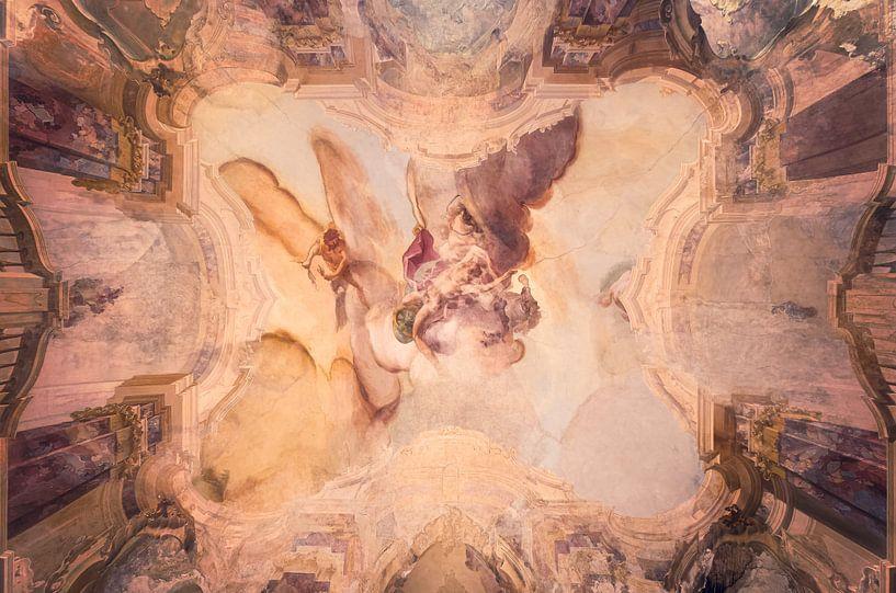 Schildering op Plafond. van Roman Robroek