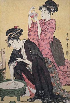Goldfisch, Kitagawa Utamaro