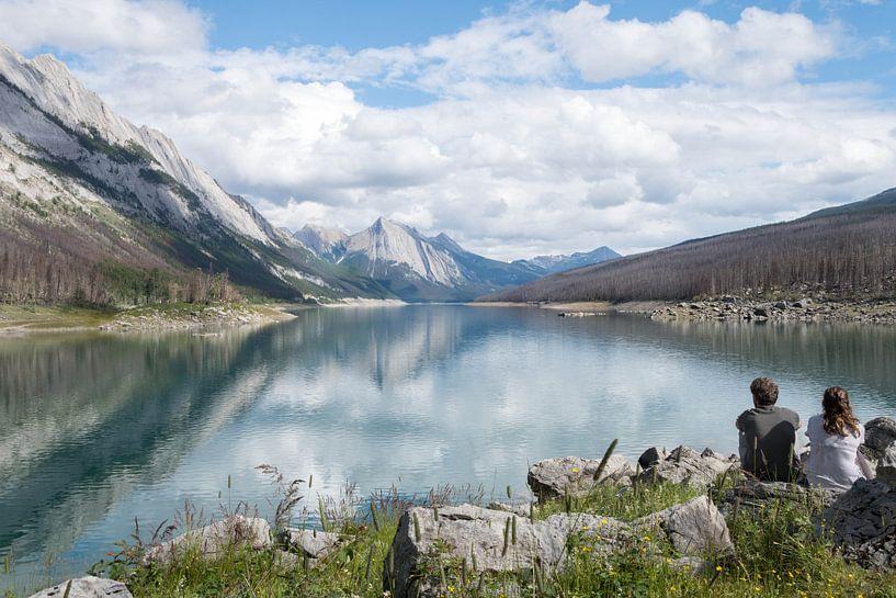 Adembenemend uitzicht met prachtige weerspiegeling van Daniel Van der Brug