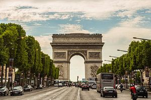 Arc de Triomphe, Parijs