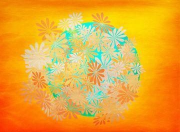 Sommerfarben van Roswitha Lorz