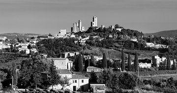 San Gimignano, Toskana, Italien von Henk Meijer Photography