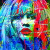 Brigitte Bardot Splash Pop Art PUR van Felix von Altersheim thumbnail
