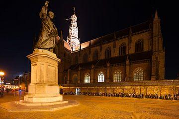 Grote Markt Haarlem  van Brian Morgan