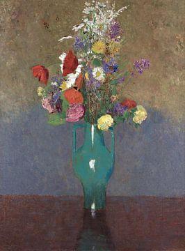 De groene vaas (Le vase vert), Odilon Redon van