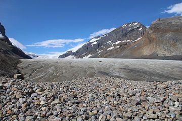 Athabasca gletsjer Canada van SaschaSuitcase