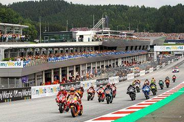 MotoGP Red Bull Ring Oostenrijk van Marco Dek