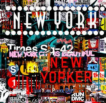 New York City is Beautiful van Frank van Meurs