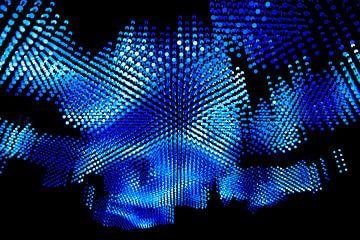 Lampen, blauw van Nynke Altenburg