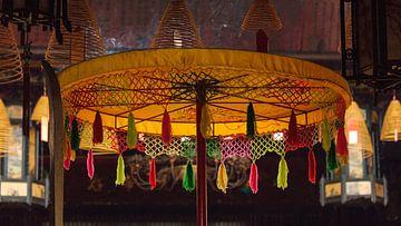 Antieke Thaise Parasol