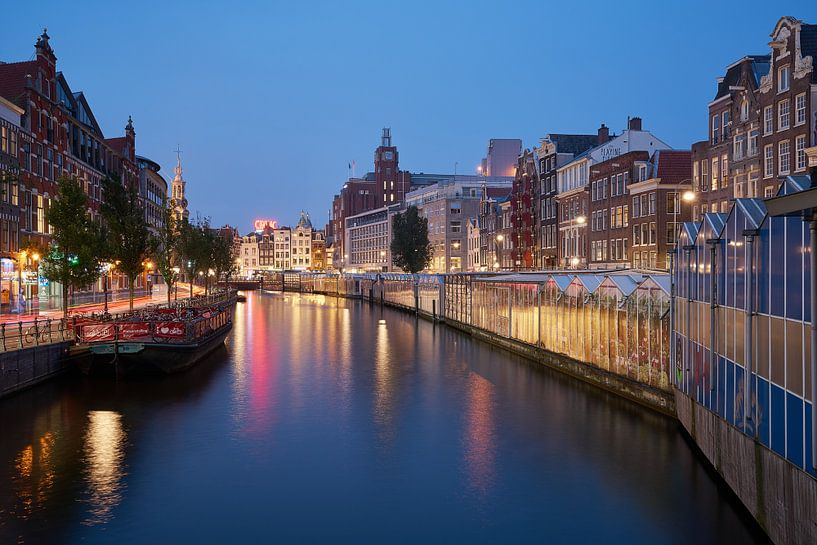 Floating Amsterdam van Scott McQuaide