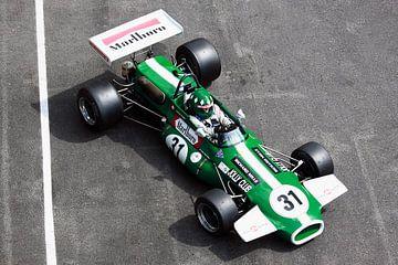 Formel-2 Rennwagen von MSP Canvas