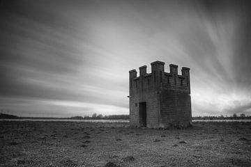 Château sur la colline sur Jan van der Vlies
