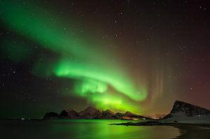 Aurora above Vestvagoya