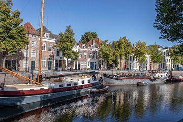 Der Hafen in 's-Hertogenbosch, die Niederlande von Joost Winkens