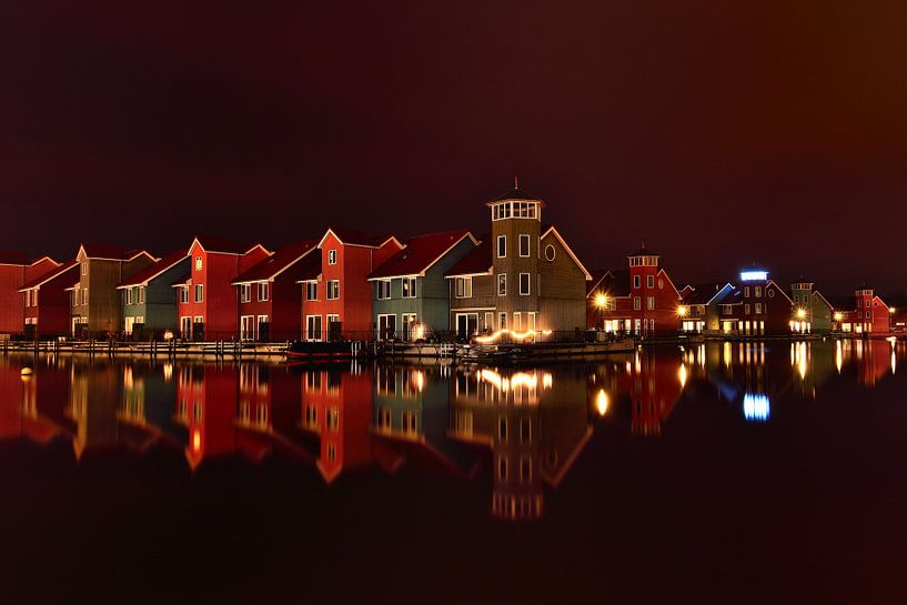 Reitdiephaven Groningen van John Leeninga