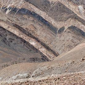 Pente montagneuse colorée dans le nord de l'Inde sur Affect Fotografie