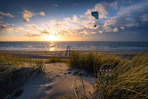 Fly (paraglider strand Dishoek)