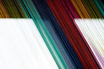 Regenbooggordijn von Sim Van Gyseghem