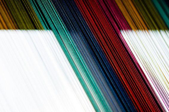 Regenbooggordijn van Sim Van Gyseghem
