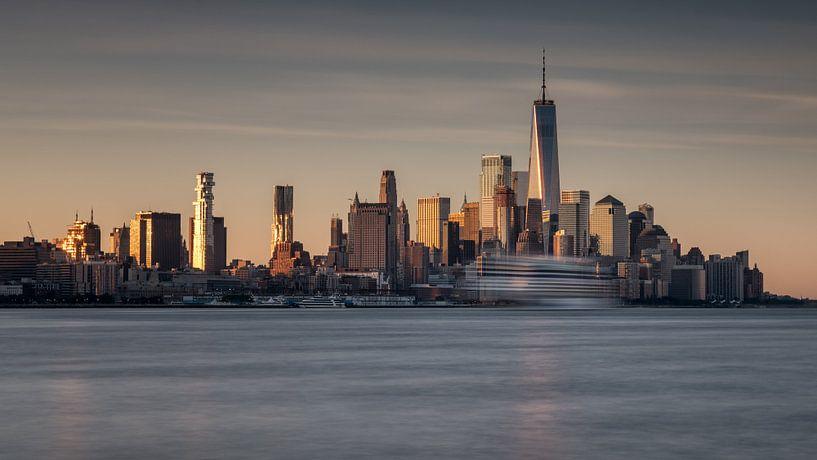 New York City Skyline early morning van Marieke Feenstra