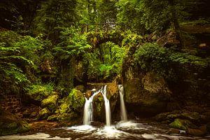 Schießentümpel-Wasserfall von Lars van de Goor