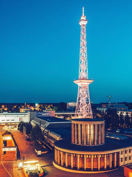 Berlin – Funkturm Radio Tower van Alexander Voss