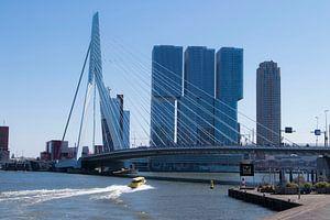 Skyline view Rotterdam van Alejandro Vivas