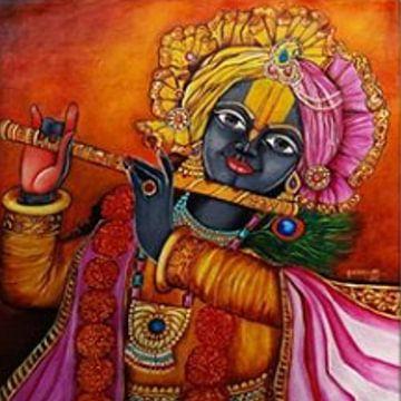 Krishna - De opperste macht van Michael Ladenthin