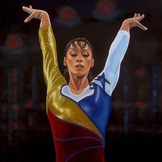 Catalina Ponor schilderij van Paul Meijering