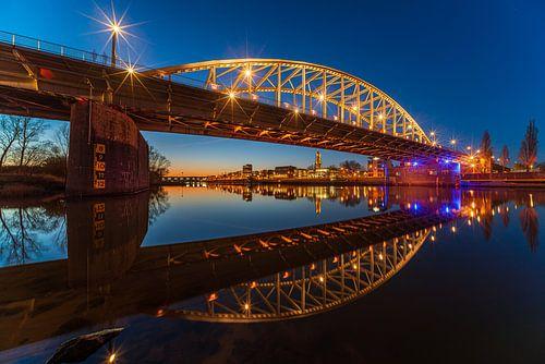 Arnhemse RIjnbrug klaar voor de bekerfinale