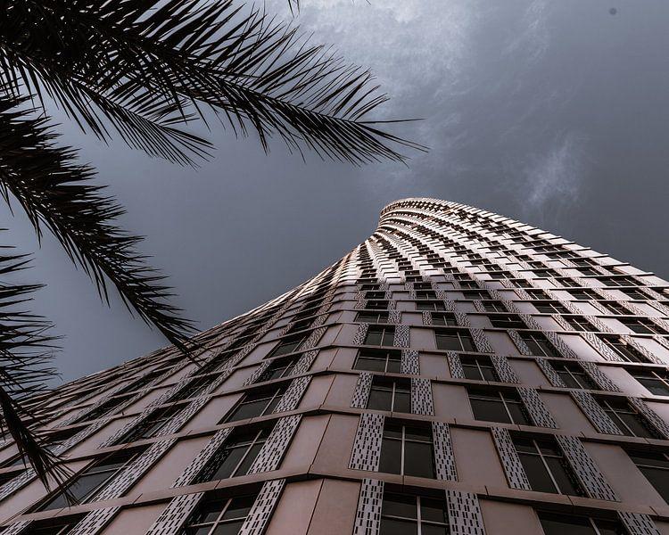 Cayan tower in Dubai