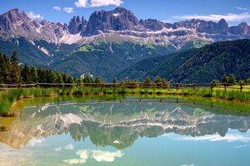 Doppelte Dolomiten von Rene Siebring