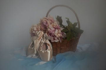 Stillleben Ballettschuhe von Angélique Vanhauwaert
