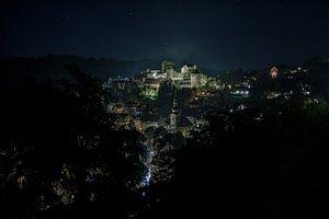 Monschau bei Nacht van