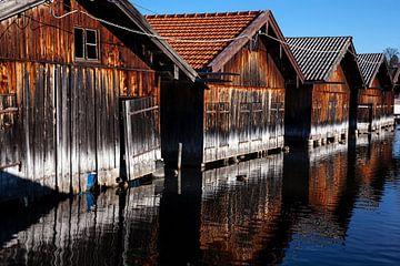 Bootshütten von Franz Nagler