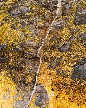 Gouden rots Normandie van . Groningenart