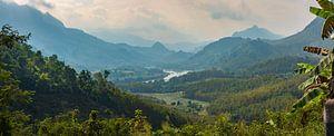 Schitterend landschap in Noord Laos van