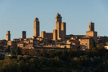 Die Geschlechtertürme von San Gimignano von Denis Feiner